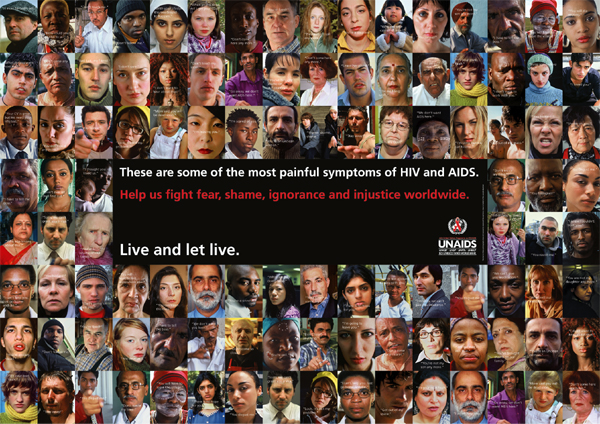 poster of how stigma is shared